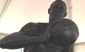 Celtics Legend Bill Russell Honored With Statue