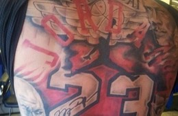 A Michael Jordan Tribute Tattoo Like No Other