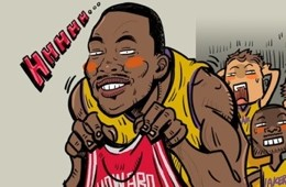 Dwight Howard Spurning the Lakers Art