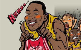 Dwight Howard 'Spurning the Lakers' Art