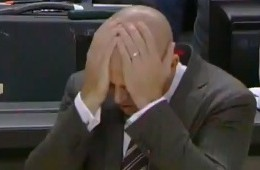 Jason Kidd Celebrates A Nets Win, Kinda
