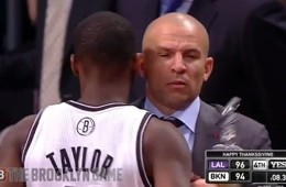 Jason Kidd Runs His 'Spill a Drink On Me' Play