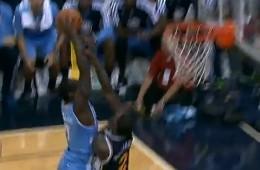 JJ Hickson Drops The Hammer On Marvin Williams