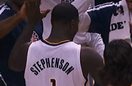 Lance Stephenson Racks Up A Triple-Double