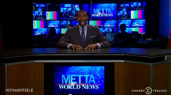 Metta World Peace 'Key & Peele' Episode