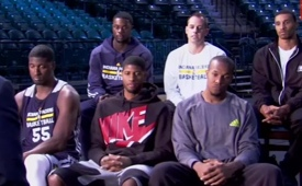 The Pacers Starting Five Interviewed By ESPN