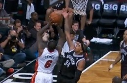 Paul Pierce Swats LeBron James