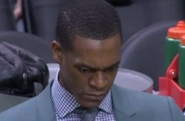 Rajon Rondo Reacts to the Celtics Stat Sheet