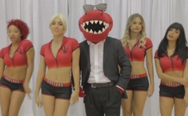 Raptors Dance Pak Featuring The Raptor 'Blurred Lines' Parody