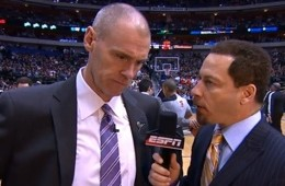 Rick Carlisle Does His Best Gregg Popovich Impersonation