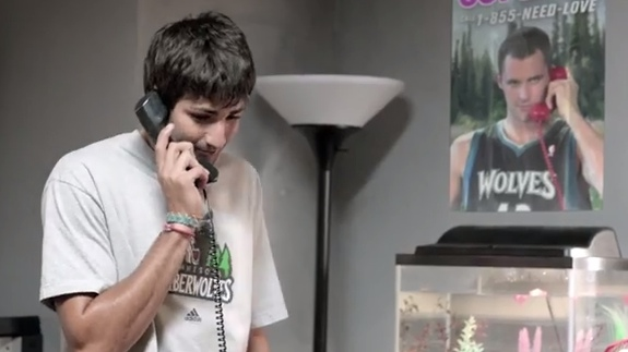 Kevin Love and Ricky Rubio 'NBA on ESPN' Commercial