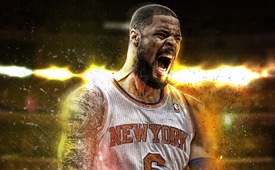 Tyson Chandler 'Radiant Energy' Art