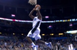 Victor Oladipo With The Steal And 360 Dunk