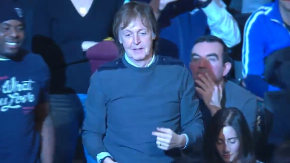 Paul McCartney Wants a Brooklyn Nets T-Shirt Really Bad