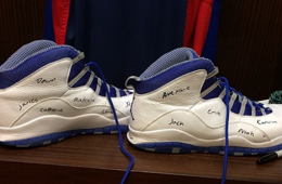 Andre Drummond Honors Sandy Hook Victims