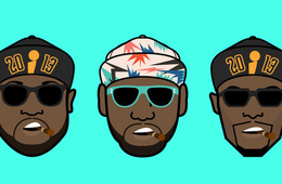 Miami Big 3 Art