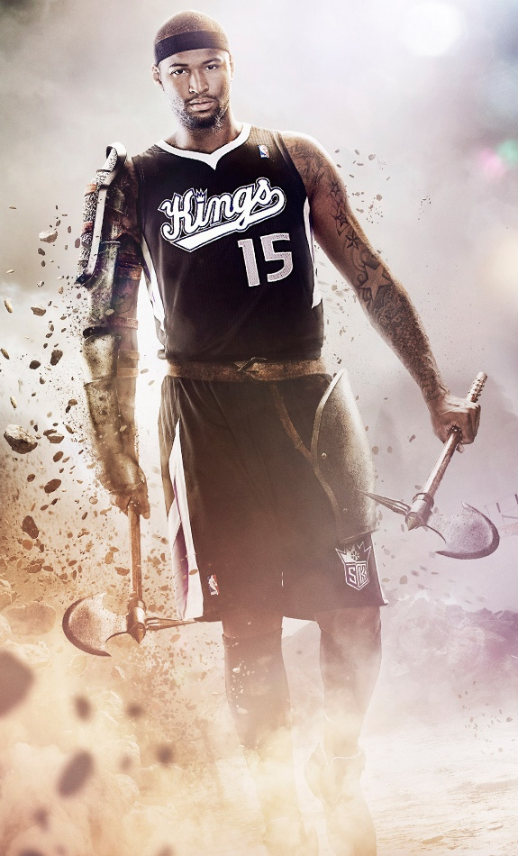 DeMarcus Cousins 'Boogie Knight' Art