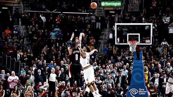 Damian Lillard Comes Up Clutch Against the Cavs