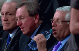 David Stern and the Bottled Water