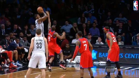 Joe Johnson Has a Quarter For the Ages