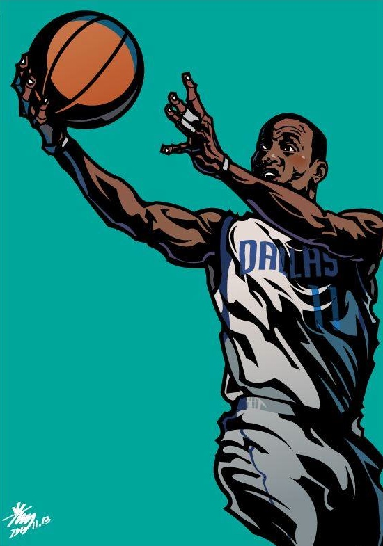Monta Ellis 'ME' Illustration