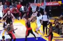 Nick Young Takes A Really Terrible Shot