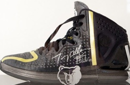 Tony Allen Auctioning Shoe Used to Kick Chris Paul