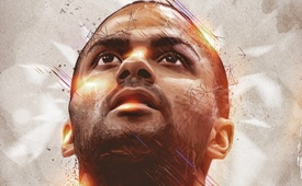 Tony Parker 'When Sport Meets Art' Portrait