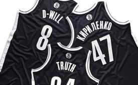 Brooklyn Nets Nickname Jerseys Sneak Peek