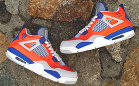 Air Jordan 4 'New York Knicks' Custom