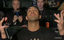 Drake Announces the Raptors Starters
