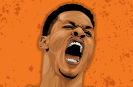 Gerald Green 'ROAR' Illustration