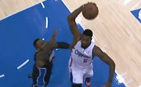 Blake Griffin and DeAndre Jordan Go Dunk Happy on the Magic