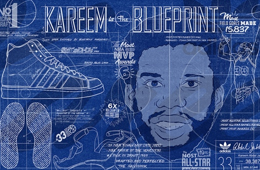 Kareem Abdul-Jabbar 'The Blueprint' Art