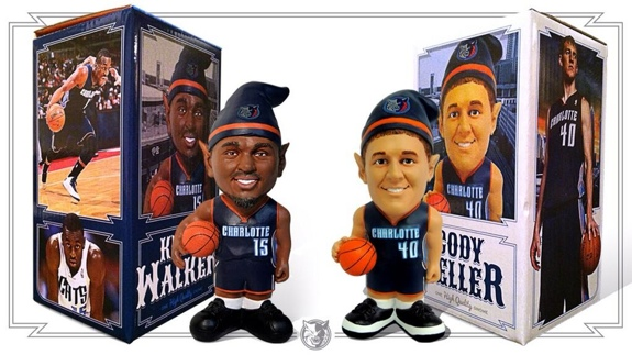Bobcats Announce Kemba Walker and Cody Zeller Gnome Giveaways