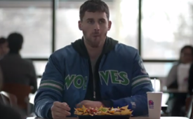 Kevin Love Taco Bell XXL Steak Nachos Commercial