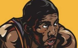 Kyrie Irving Illustration
