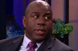Magic Johnson On The Tonight Show with Jay Leno