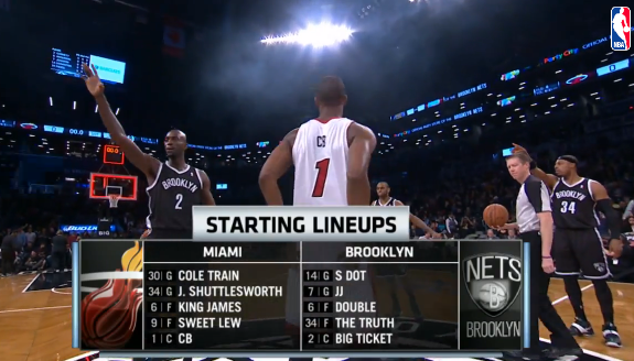 Heat and Nets First Nickname Jersey Game Highlights