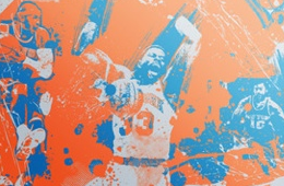 New York Knicks Greats Poster