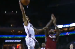Ramon Sessions Dunks on LeBron James