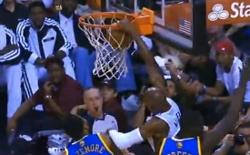 Ray Allen Proves He Can Still Get Up