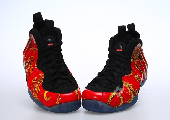 Supreme x Nike Air Foamposite One 'Red'