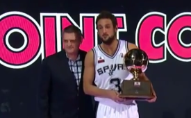 Marco Belinelli Wins the 2014 3-Point Contest