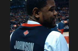 Amir Johnson Rocks a Sweet Jersey Vest
