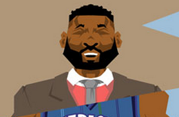 Baron Davis 'On Court x Off Court' Caricature Art