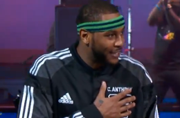 Carmelo Anthony Breaks an All-Star 3-Point Record