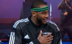 Carmelo Anthony Breaks an All-Star Game 3-Point Record