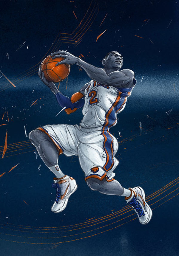 Slam Dunk Contest Winning Dunks Illustrated