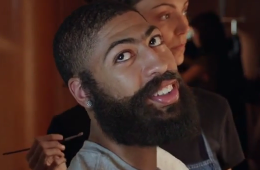 James Harden Disguised as Anthony Davis